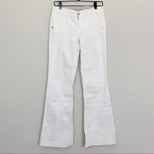 GAP Limited Edition White Wide Leg Jeans